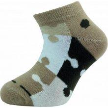 Novia Dětské kotníkové ponožky 127N 4 páry v balení mix vzorů puzzle 6acefb9ff6