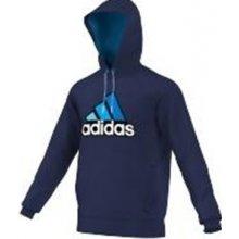 fe73b9eefa29 Adidas s kapucí Modrá