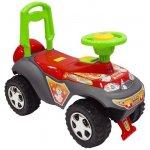 BABY MIX Odrážedlo autíčko Turbo red