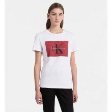 1f09d41b8 Calvin Klein dámské tričko s potiskem bílé