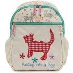 Pink Lining pro děti dětský batoh Raining cats and dogs