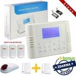 Bezdrátový LCD GSM alarm systém PREMIUM II