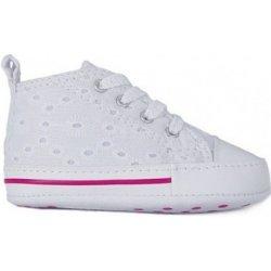 Converse Bačkůrky pro miminka FIRST STAR WHITE ruznobarevne ... 1217cb0474