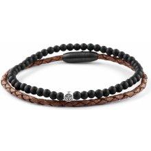 Lucleon náramek Willian 925 Tan & Black M0-7-9369