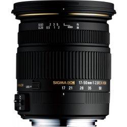 Sigma 17-50mm f/2,8 EX DC OS HSM Canon