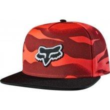Fox Vicious Baseball Dámská kšiltovka acid red