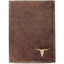 Buffalo Stylová pánská peněženka starší vzhled přírodní kůže rfid hnědá 283dc19e58