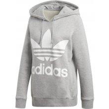 Adidas Originals Trefoil Hoodie šedá a4c08f7e1a