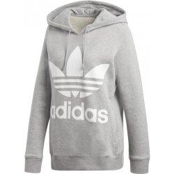 Adidas Originals Trefoil Hoodie šedá od 1 259 Kč - Heureka.cz e7f93252db
