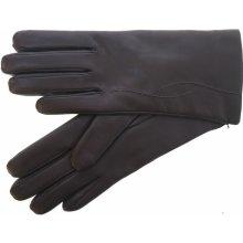 e90b6999e66 dámské kožené rukavice ND 4162 it tmavě hnědé