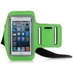 Pouzdro Sportiso Sportovní Armband iPhone 5/5S/SE Zelené