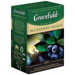 Greenfield Blueberry Nights černý čaj papír 100 g
