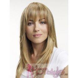 Clip in ofina 100% lidské vlasy - REMY - přírodní blond alternativy ... 0bf2fbf04f9