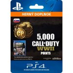 Call of Duty: WWII - 5,000 Points