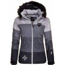 KILPI EUFANA-W Dámská zimní lyžařská bunda Černá
