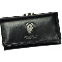Harvey Miller Dámská kožená peněženka 3820 N PL10 černá
