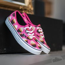 Vans Authentic Late Night hot pink/cupcakes