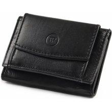 6496d94e53d Bright Dámská mini peněženka kožená měkčí černá KP00 D15328 09KUZ