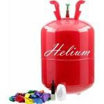 Helium do balónků BigParty + 30 balónků a stuha
