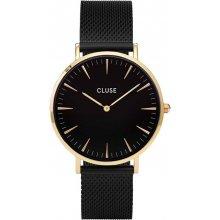 Cluse La Bohème Mesh Gold Black/Black