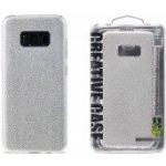 Pouzdro REMAX Etui Glitter Samsung G955 Galaxy S8 Plus stříbrná 46706