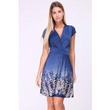 Květované šaty krátký rukáv - Heureka.cz f699689c56