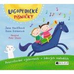 Logopedické písničky audio CD pro děti - Ilona Eichlerová, Jana Havlíčková