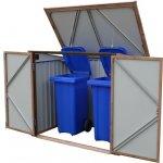 DURAMAX Úložný box na popelnice 74045 - imitace dřeva