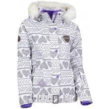 Kilpi KAINU ŠEDÁ Dámská snowboardová bunda