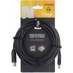 Stagg NCC5U3AU3B USB /STD A-B 3.0 6m