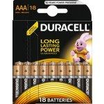 Baterie DURACELL PLUS POWER AAA 18 ks