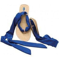 a53051240011 Dámská obuv Scholl Pocket Ballerina Sandals baleríny bílé modré