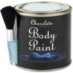 Chocolate Body Paint Tin 200g s kartáčkem