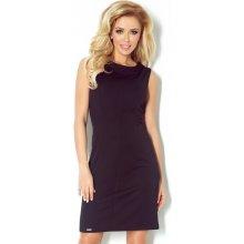 6f18925e02b Numoco dámské společenské a casual šaty bez rukávu 91-1 černá