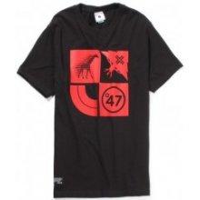 LRG Lifted Cluster Tee Black tričko