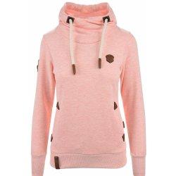 Naketano Schöne Klaus světle růžová mikina s kapucí alternativy ... ce1adb1870