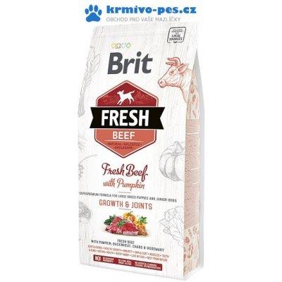 Brit Fresh Beef & Pumpkin Puppy Large Bones & Joints 12 kg