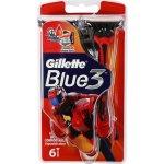 Gillette blue3 Pride 3ks