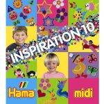 HAMA H399-10 Hama zažehlovací korálky Inspirativní knížka 10 - MIDI