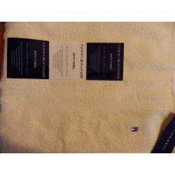 TOMMY HILFIGER osuška bavlna žlutá 70 cm x 140 cm alternativy ... c3042a5a02