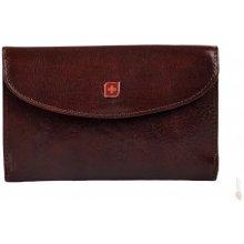 Genevian 03 2708 04 dámská kožená peněženka hnědá