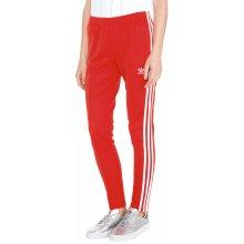 Adidas Originals Červená V-Day SST Tepláky dámské 8fd6e58bbe