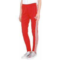 Adidas Originals Červená V-Day SST Tepláky dámské