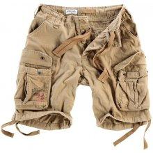 Airborne Vintage shorts béžové