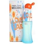Moschino I Love Love X EdT 50 ml + tělové mléko 50 ml + etue dárková sada