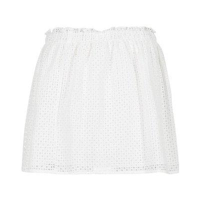 Betty London krátká sukně Girmou bílá