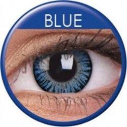 MaxVue ColorVue 3 Tones Blue barevné tříměsíční dioptrické 2 čočky ... 41955ae702f