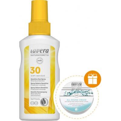 Lavera opalovací spray Sensitiv SPF30 BIO 100 ml