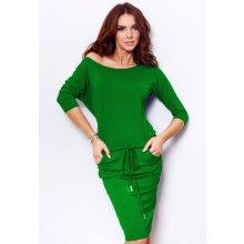 Numoco šaty dámské sportovní 3 4 rukáv 13-18 zelená 71bcde0682