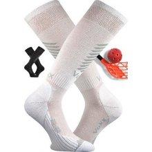 VoXX Floorbalové podkolenky SHELBY, lehce kompresní Bílá